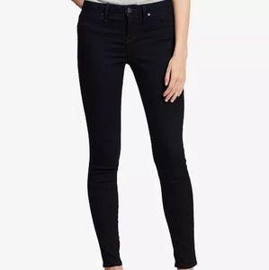 Calvin Klein Ponte Stretch Black Jeggings Size 6
